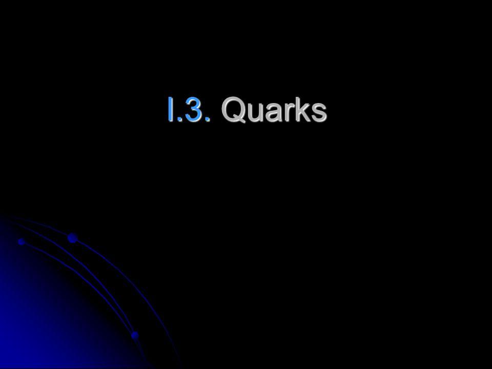I.3. Quarks