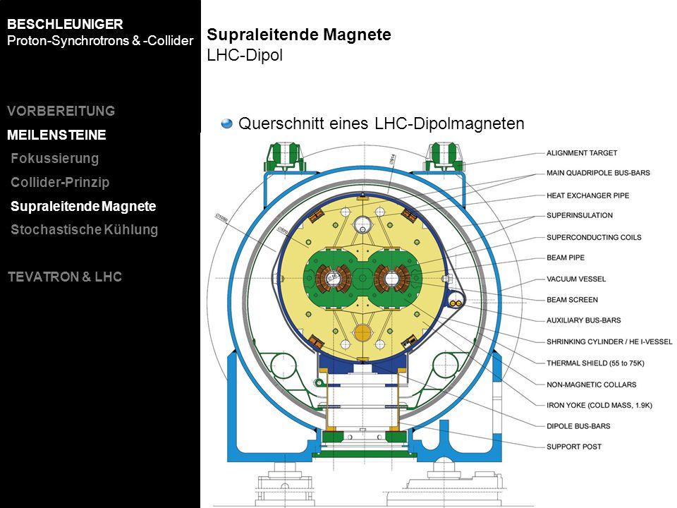 Supraleitende Magnete LHC-Dipol