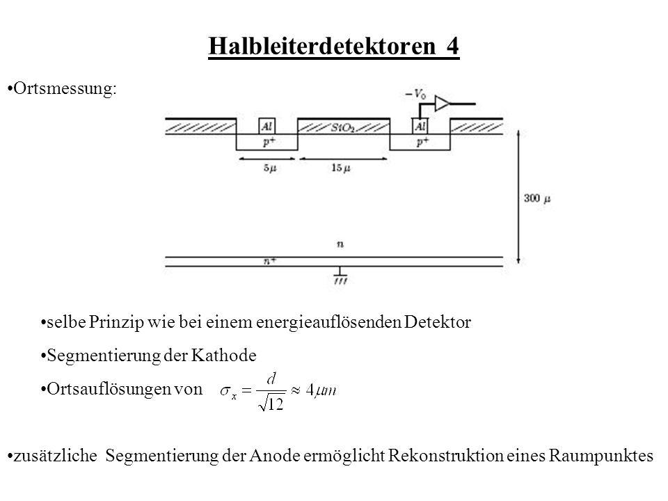 Halbleiterdetektoren 4