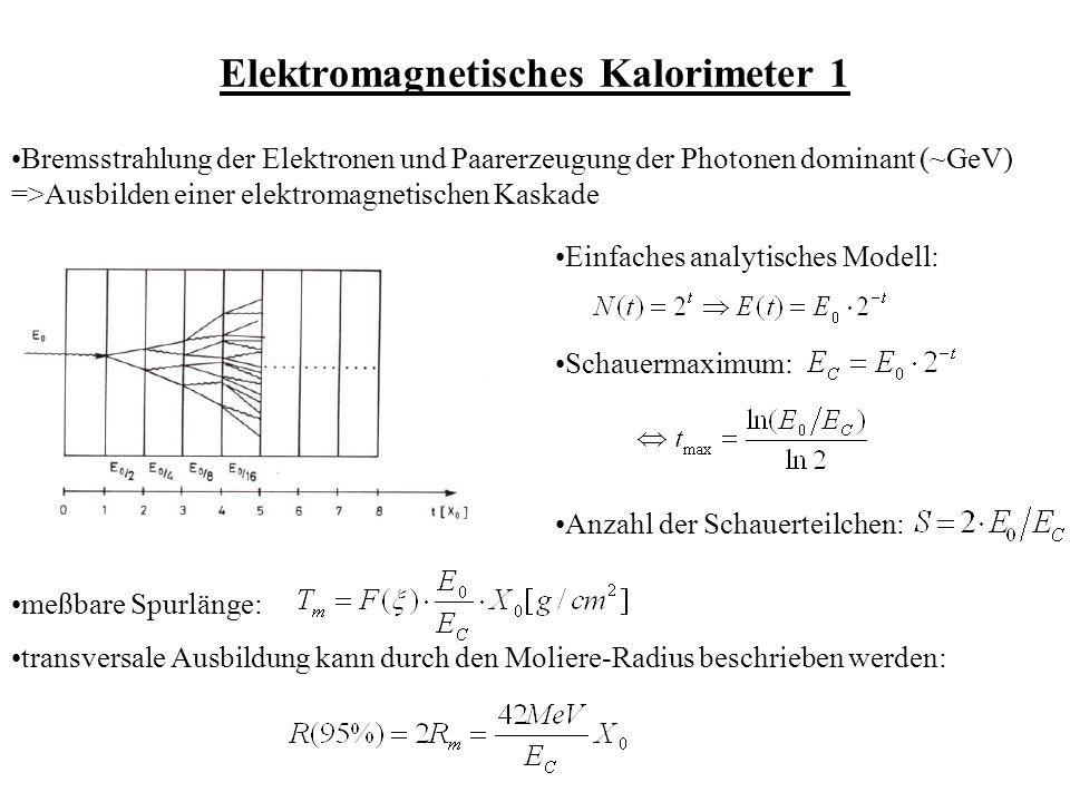 Elektromagnetisches Kalorimeter 1