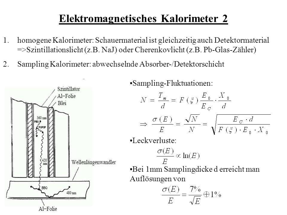 Elektromagnetisches Kalorimeter 2