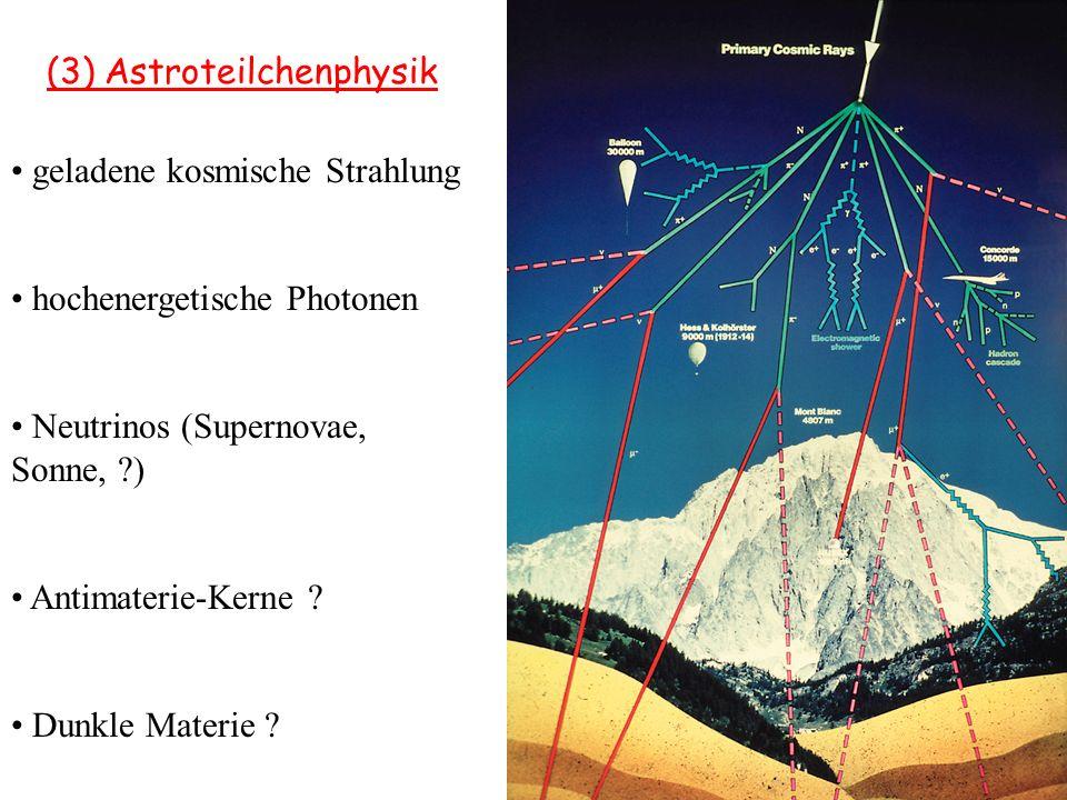 (3) Astroteilchenphysik