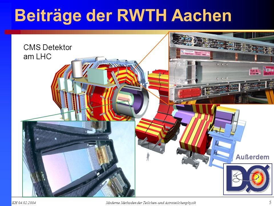 Beiträge der RWTH Aachen