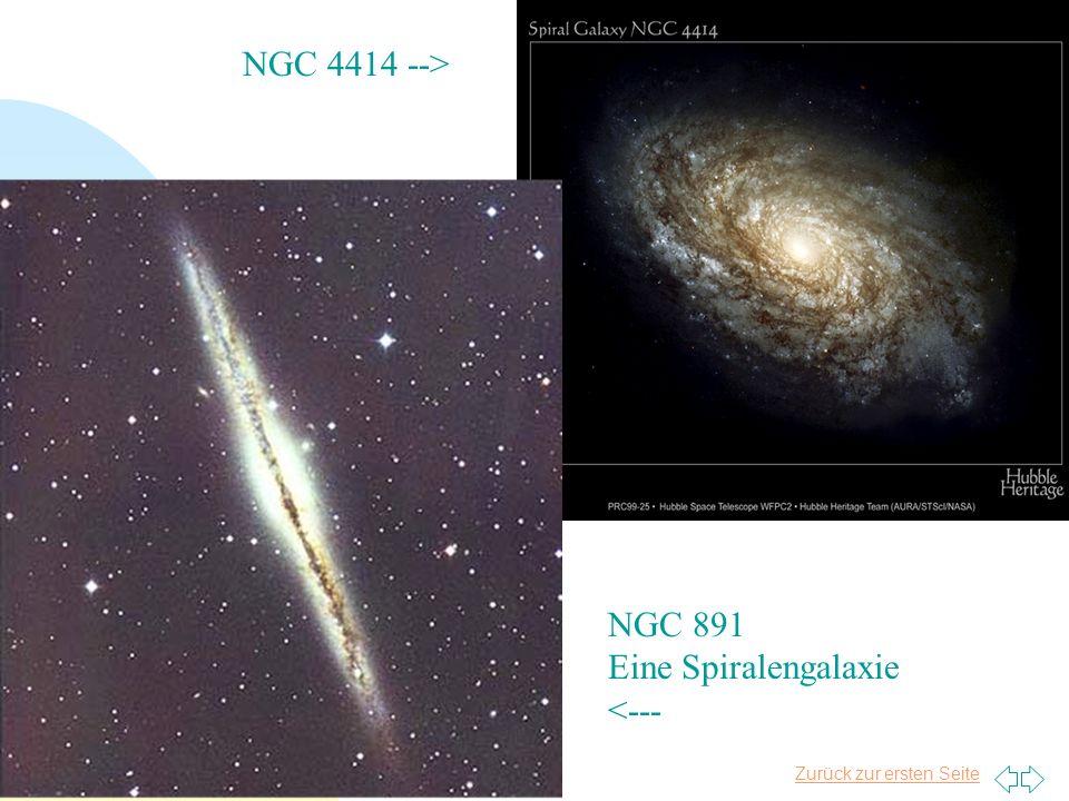 NGC 4414 --> NGC 891 Eine Spiralengalaxie <--- Tim Niels Plasa