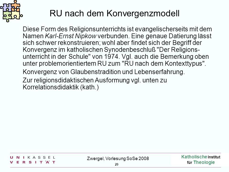 RU nach dem Konvergenzmodell