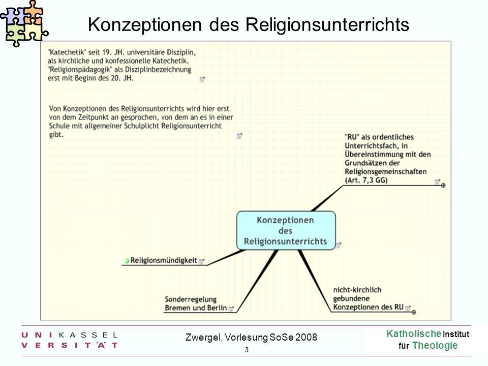 Konzeptionen des Religionsunterrichts