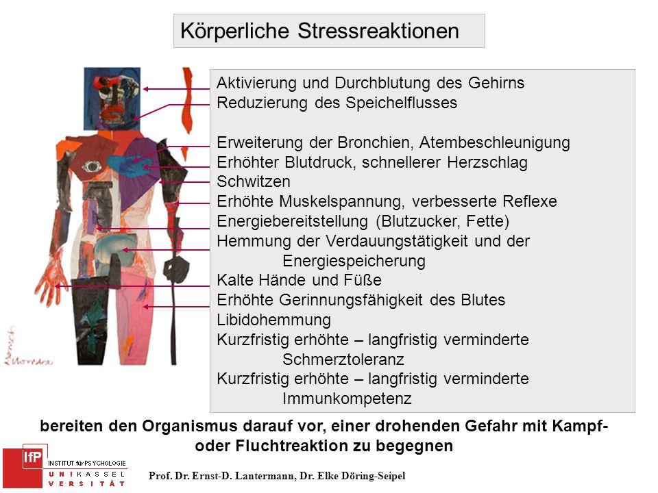 Körperliche Stressreaktionen