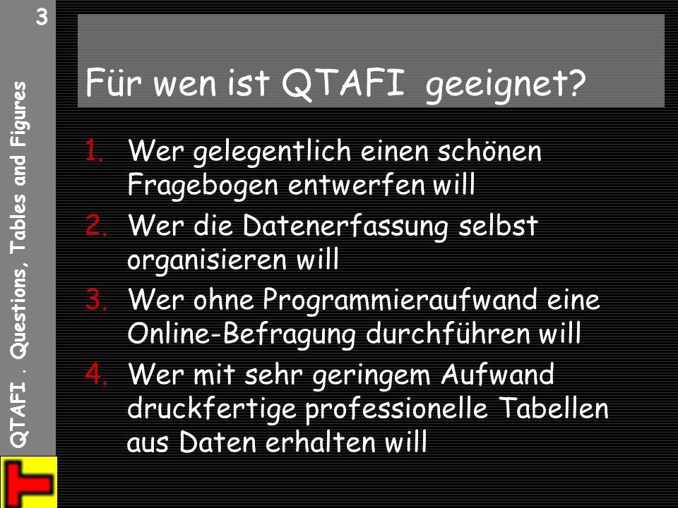 Für wen ist QTAFI geeignet