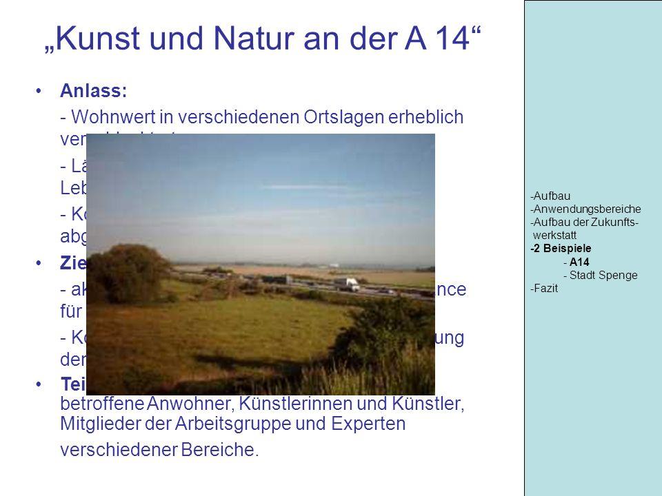 """""""Kunst und Natur an der A 14"""