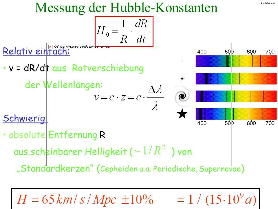 Messung der Hubble-Konstanten