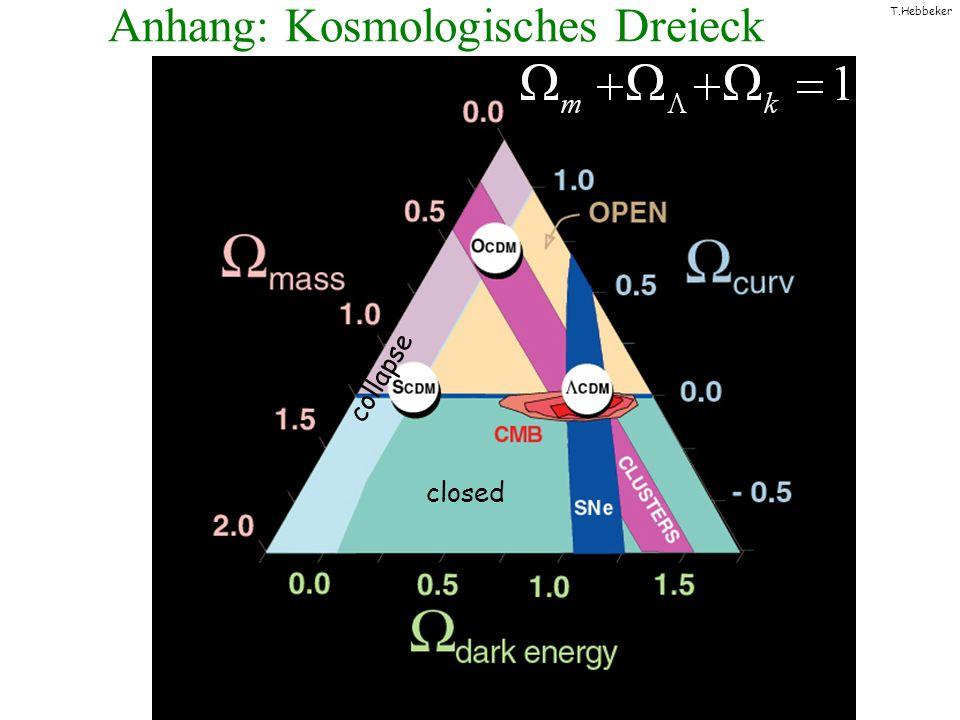Anhang: Kosmologisches Dreieck
