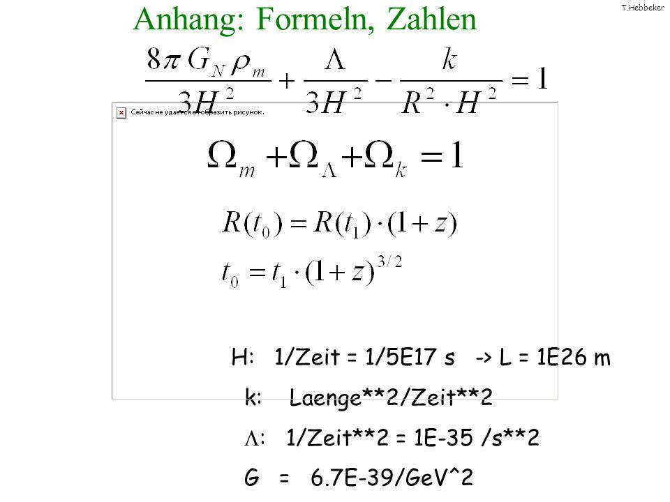 Anhang: Formeln, Zahlen