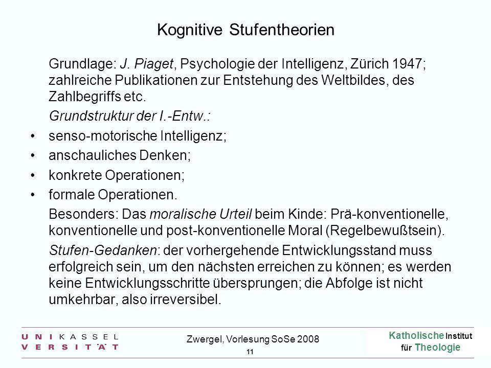 Kognitive Stufentheorien