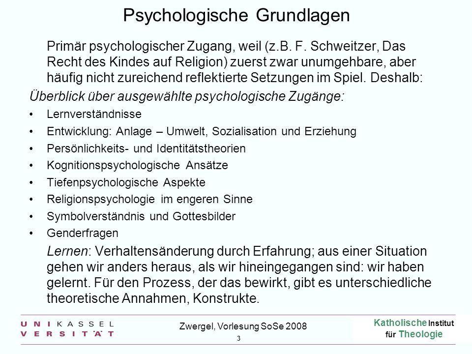 Psychologische Grundlagen