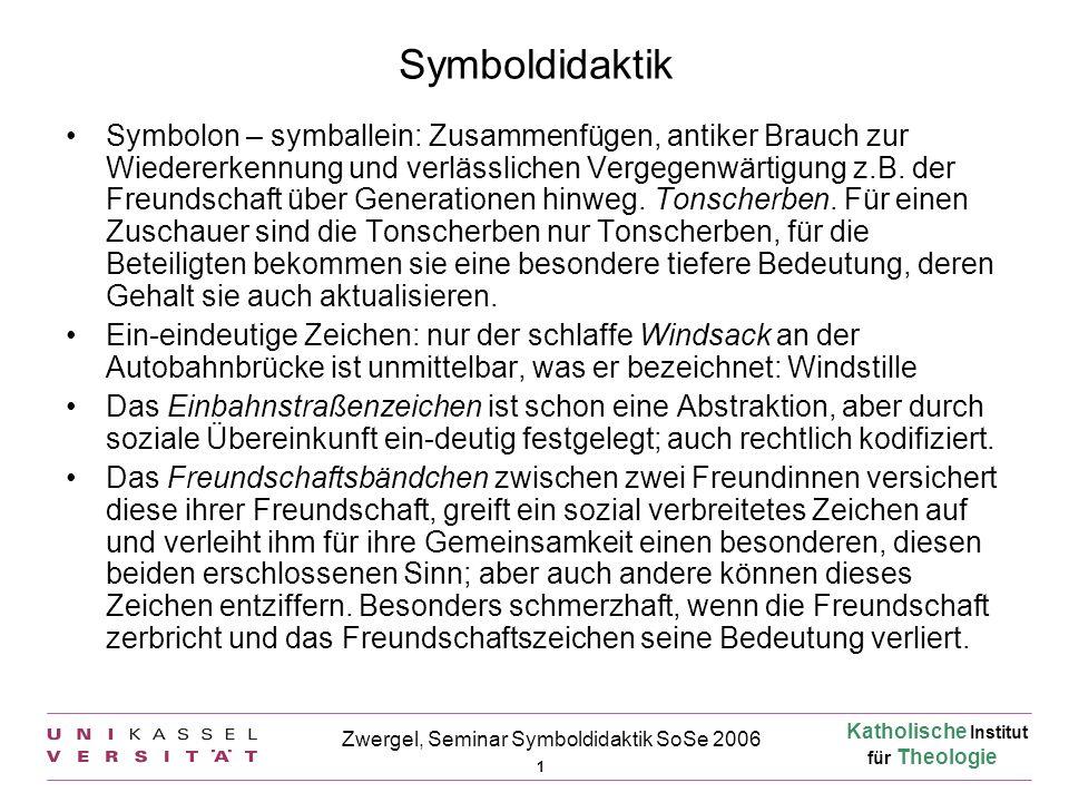 Zwergel, Seminar Symboldidaktik SoSe 2006