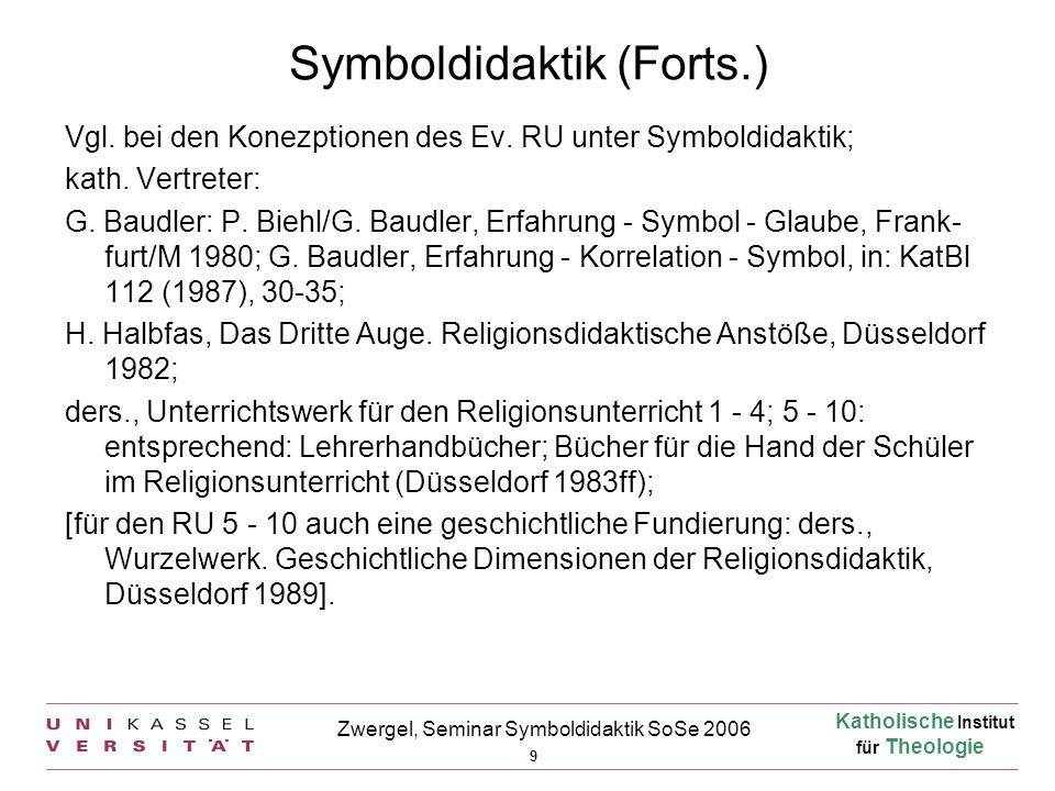 Symboldidaktik (Forts.)