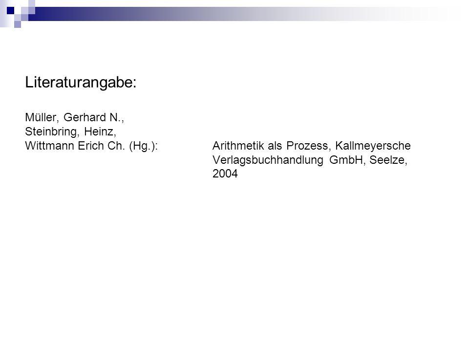 Literaturangabe: Müller, Gerhard N