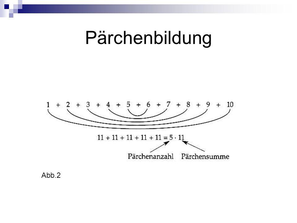 Pärchenbildung Abb.2