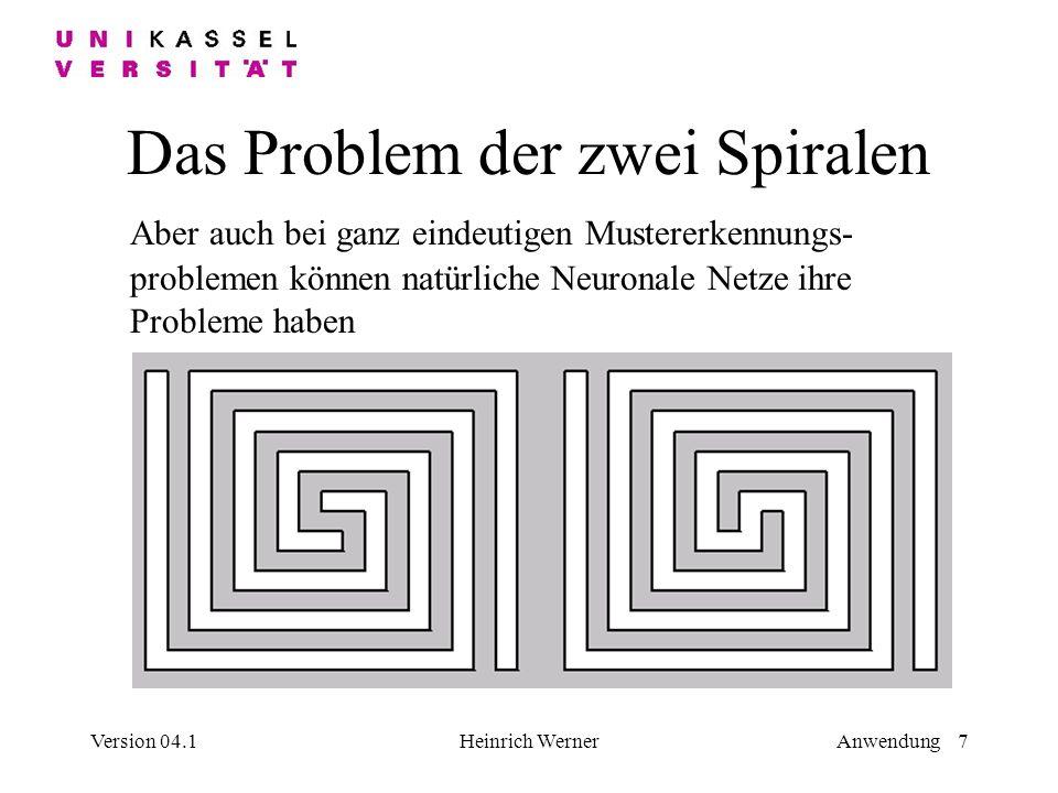 Das Problem der zwei Spiralen