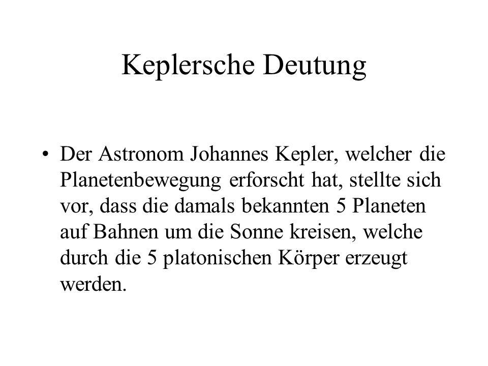 Keplersche Deutung