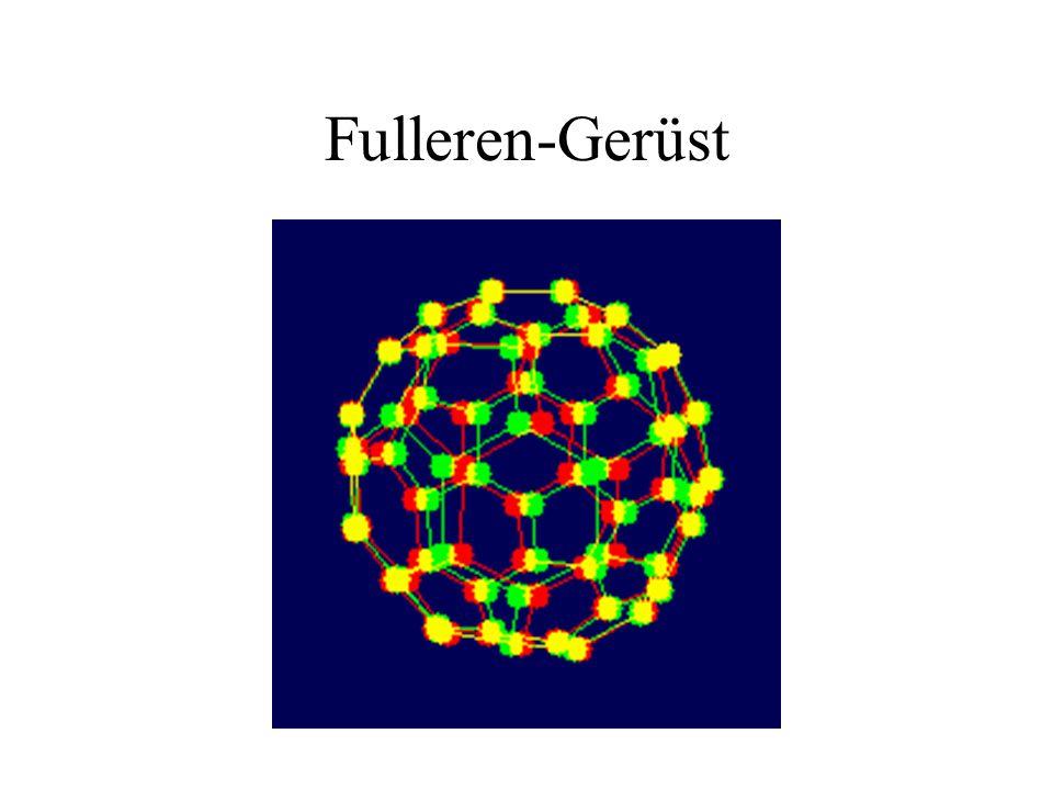 Fulleren-Gerüst