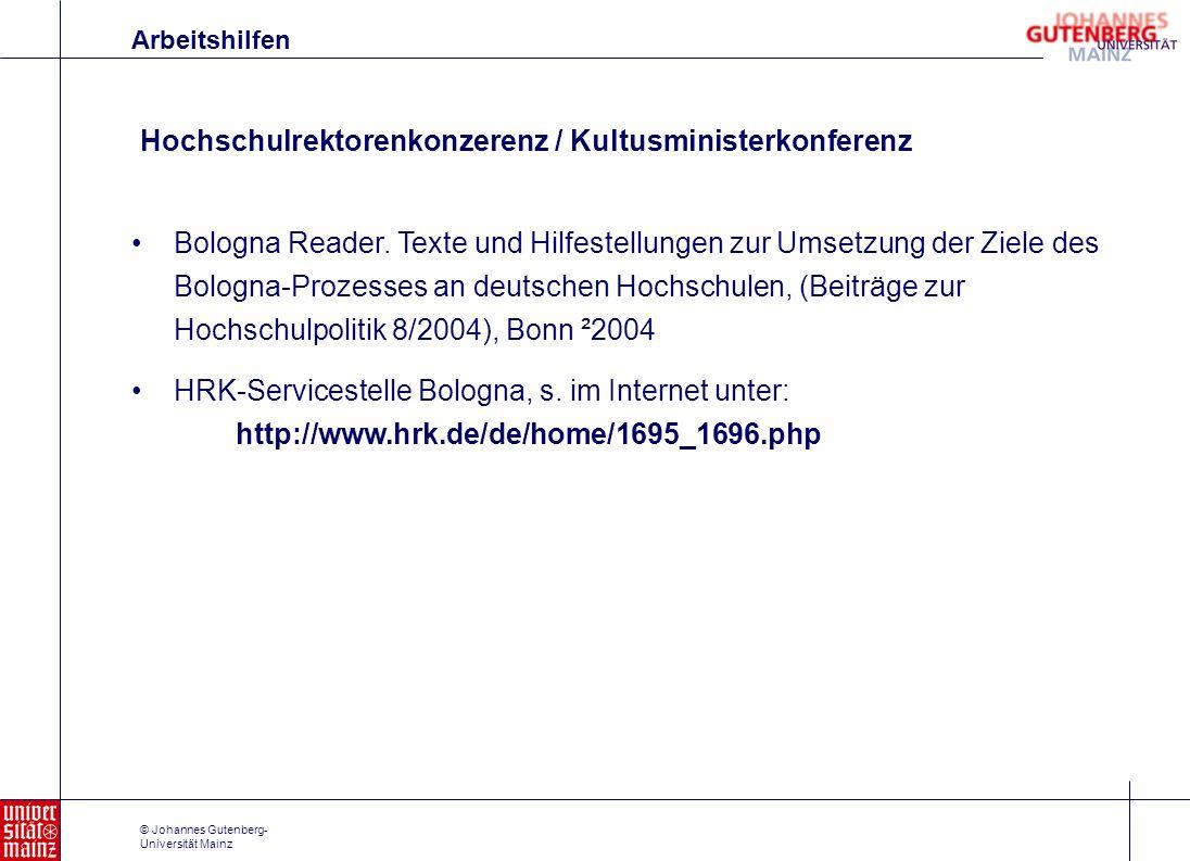Hochschulrektorenkonzerenz / Kultusministerkonferenz