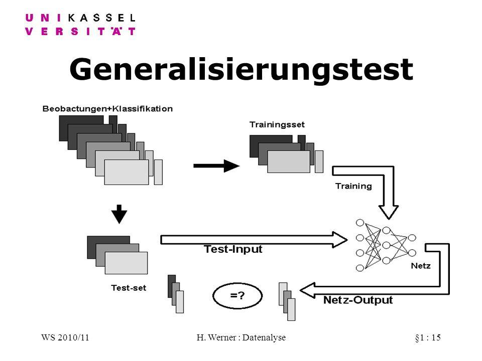 Generalisierungstest