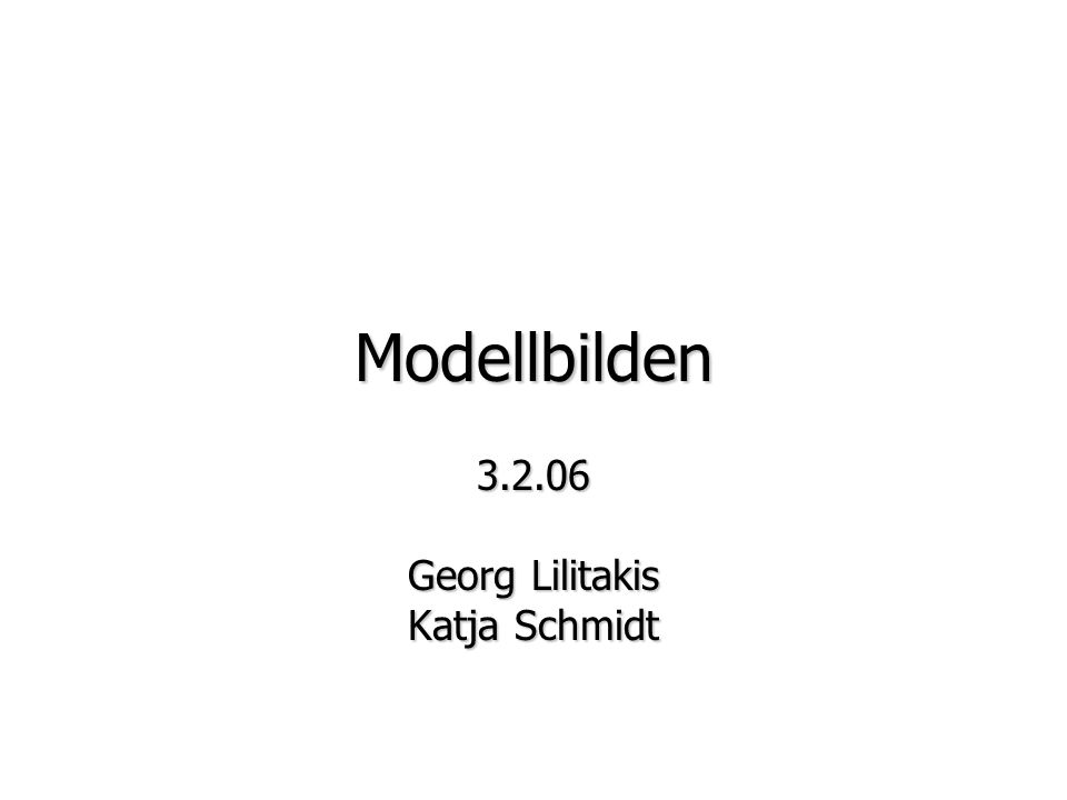 3.2.06 Georg Lilitakis Katja Schmidt