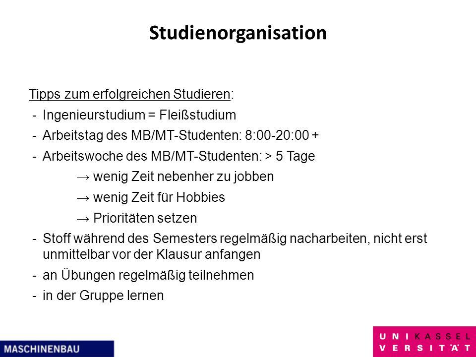 Studienorganisation