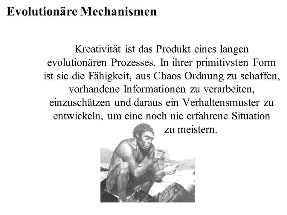 Evolutionäre Mechanismen
