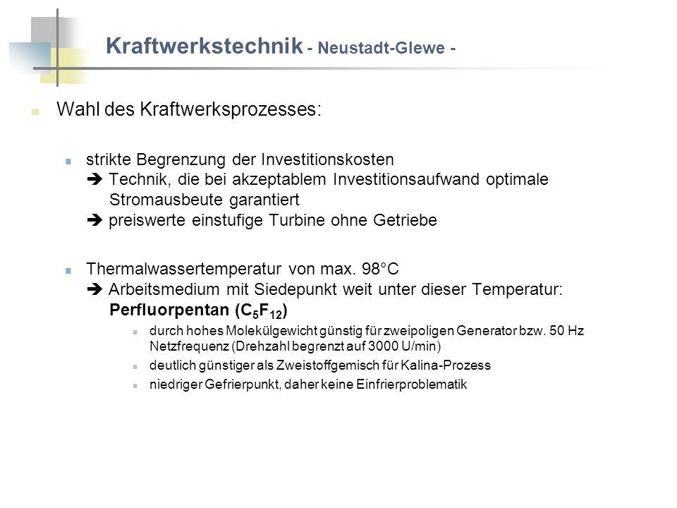 Kraftwerkstechnik - Neustadt-Glewe -