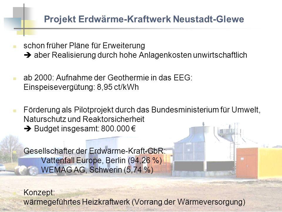 Projekt Erdwärme-Kraftwerk Neustadt-Glewe