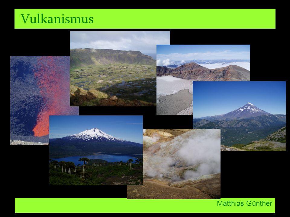 Vulkanismus Matthias Günther