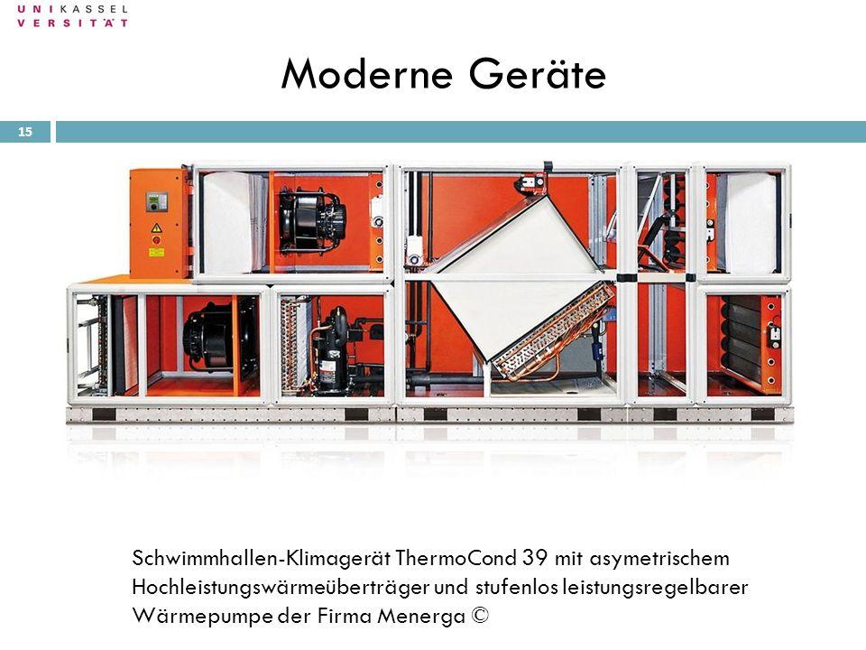 Moderne Geräte