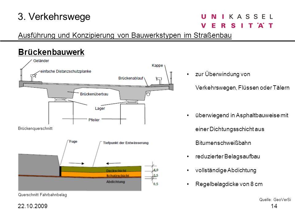 3. Verkehrswege Brückenbauwerk