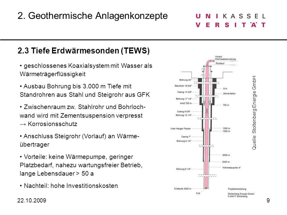 2. Geothermische Anlagenkonzepte