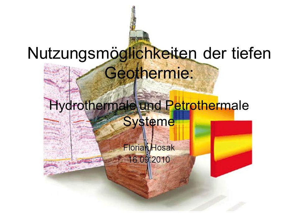 Nutzungsmöglichkeiten der tiefen Geothermie: