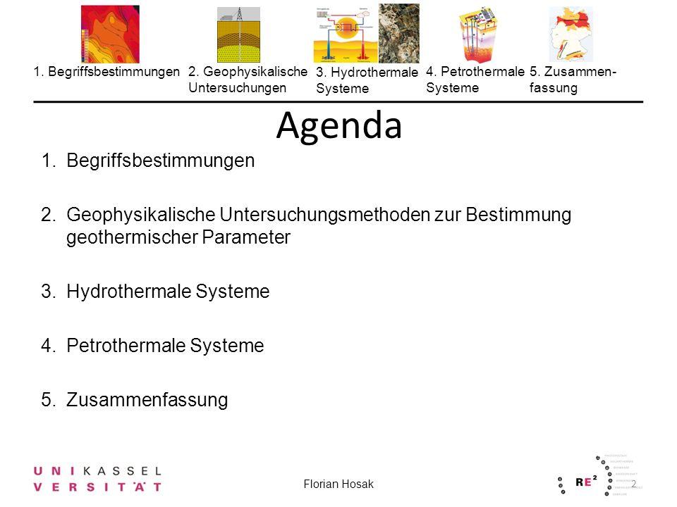 Agenda Begriffsbestimmungen