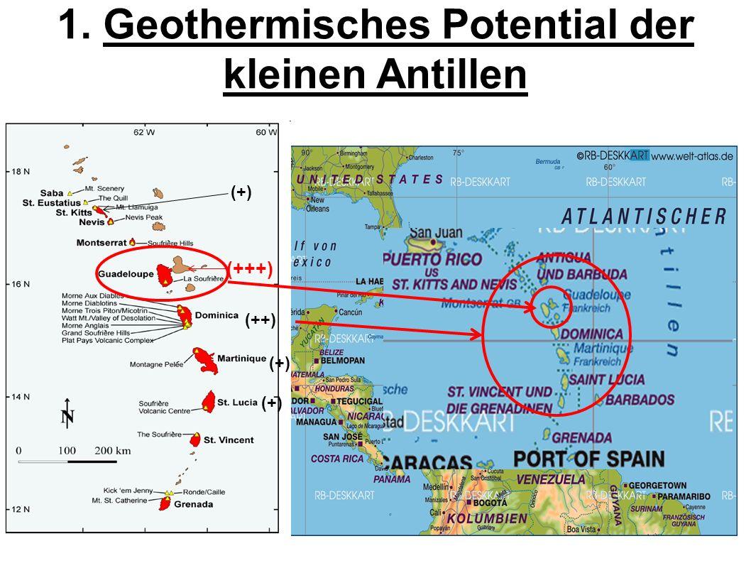 1. Geothermisches Potential der kleinen Antillen