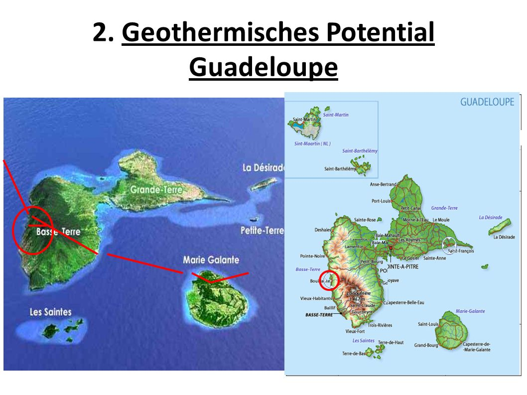 2. Geothermisches Potential Guadeloupe