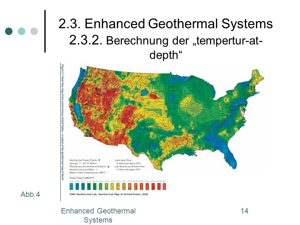 Enhanced Geothermal Systems