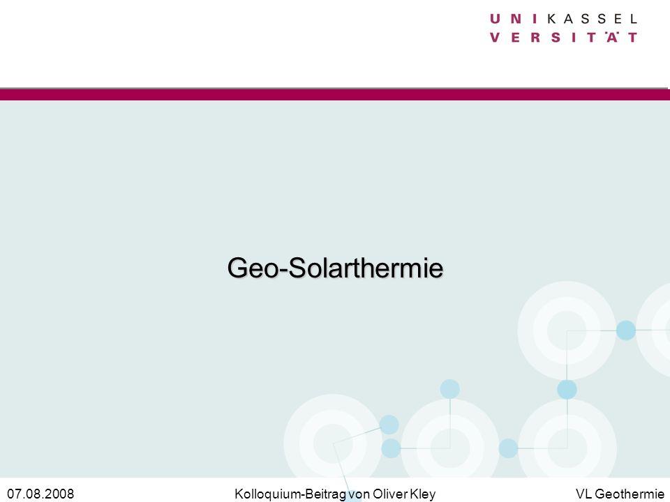 Geo-Solarthermie