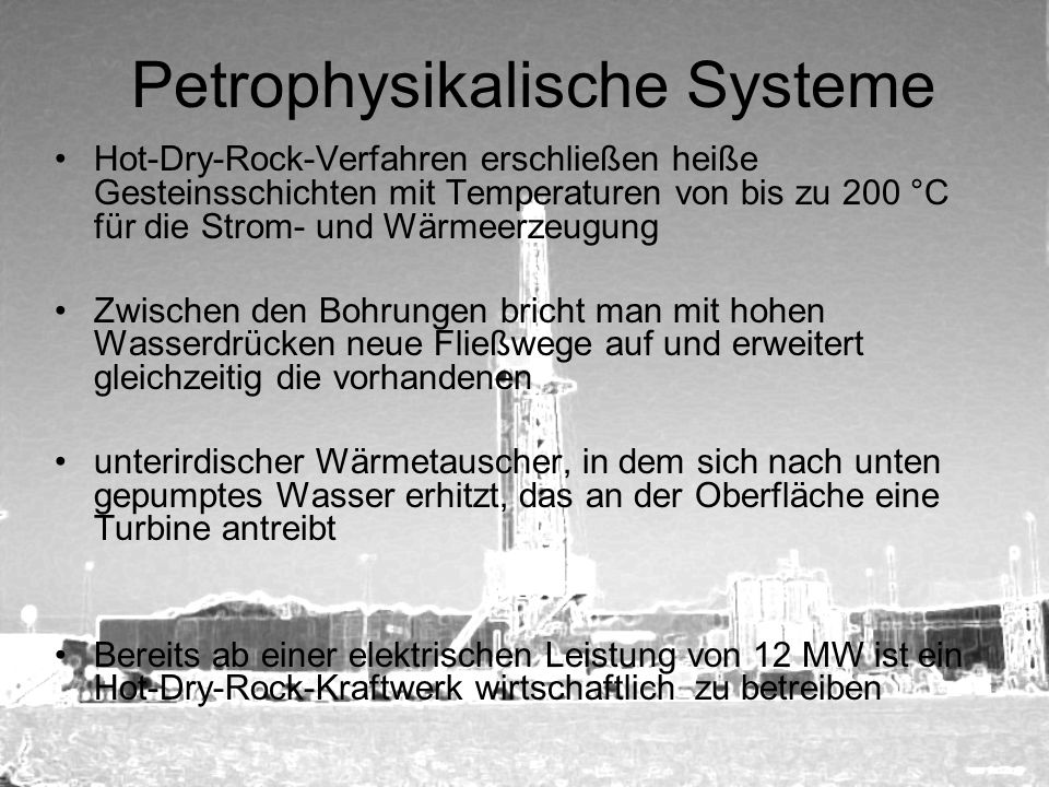 Petrophysikalische Systeme