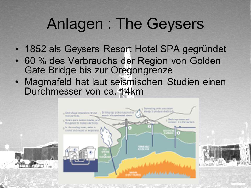 Anlagen : The Geysers 1852 als Geysers Resort Hotel SPA gegründet