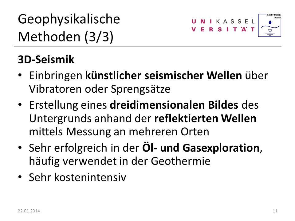 Geophysikalische Methoden (3/3)