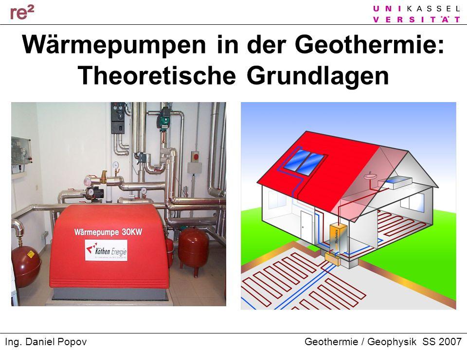 Wärmepumpen in der Geothermie: Theoretische Grundlagen