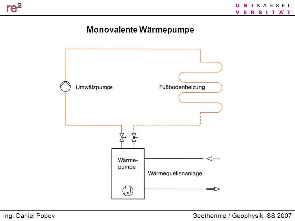 Monovalente Wärmepumpe
