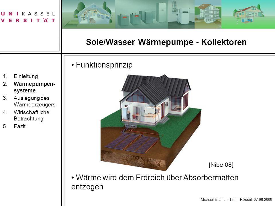 Sole/Wasser Wärmepumpe - Kollektoren