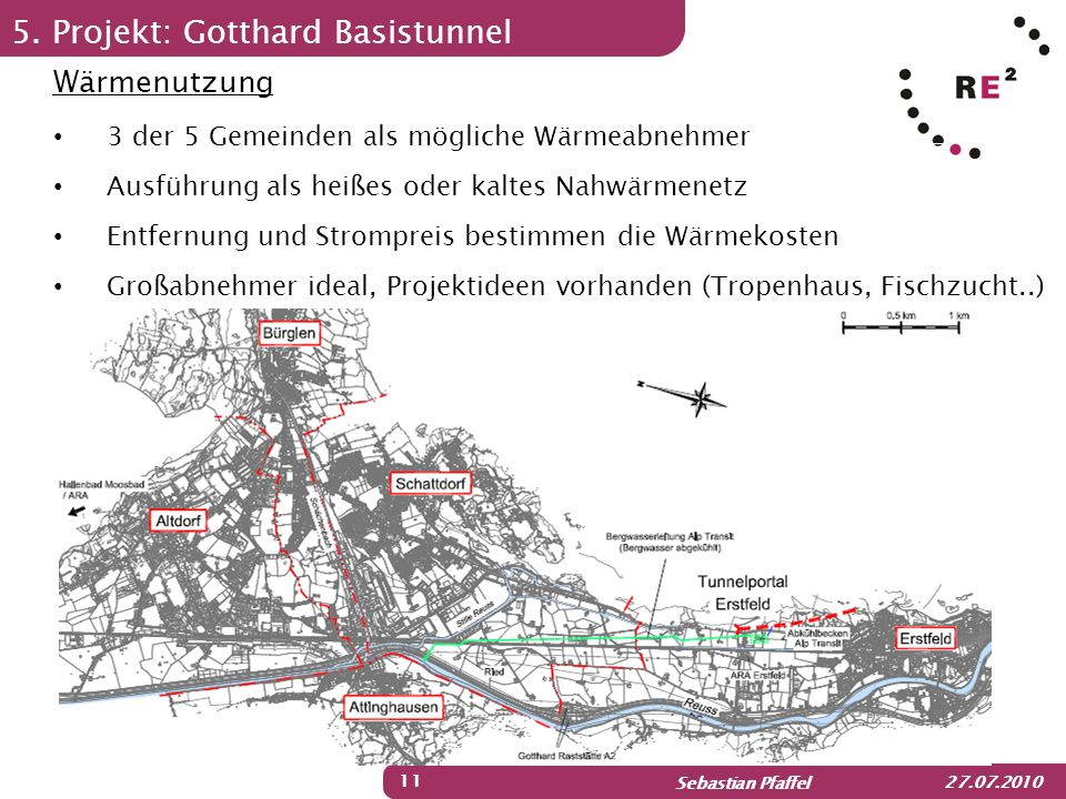 5. Projekt: Gotthard Basistunnel
