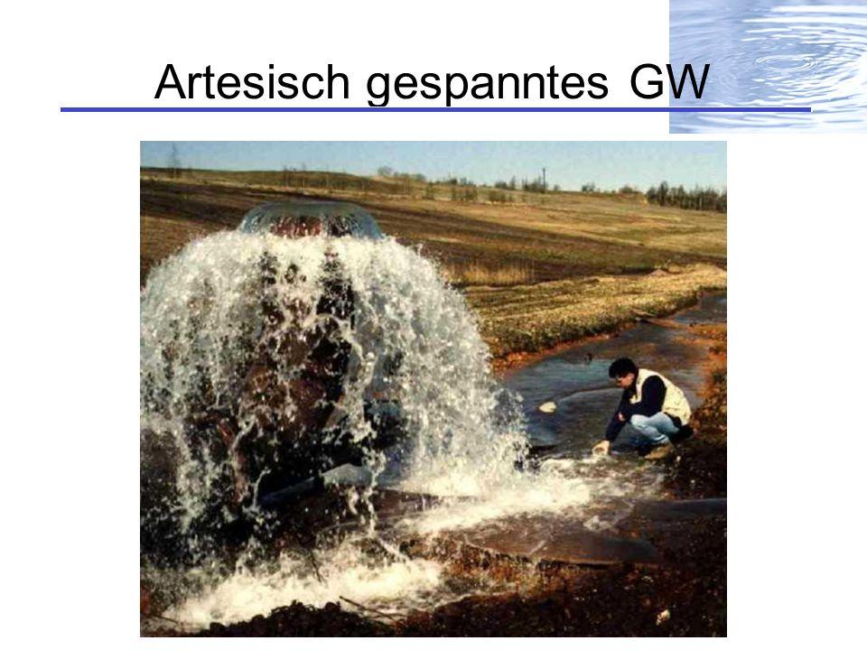 Artesisch gespanntes GW